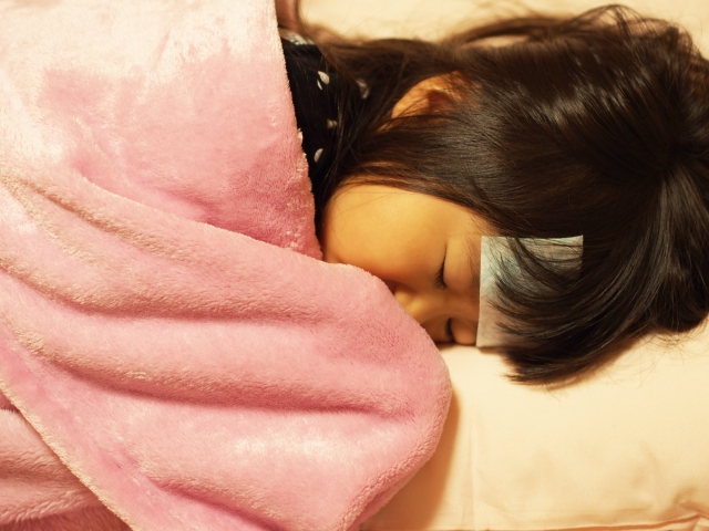 子どものインフルエンザの看病