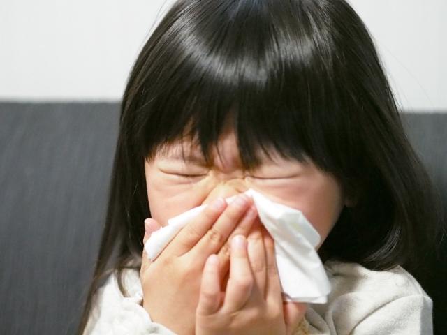 娘にインフルエンザがうつった!