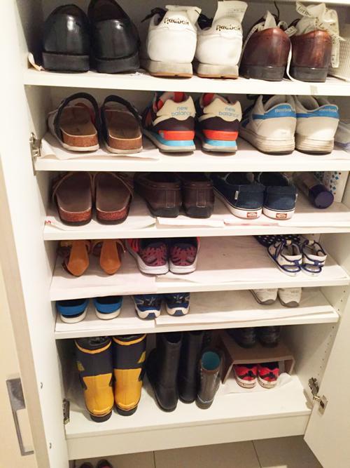 断捨離後の我が家の靴箱2