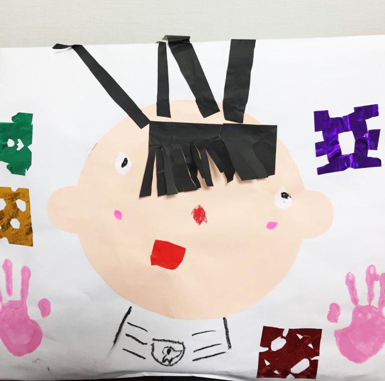 幼稚園の作品袋2