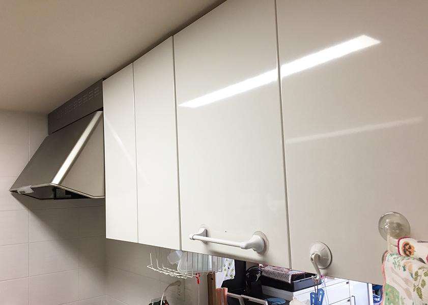 我が家の断捨離後のキッチン棚