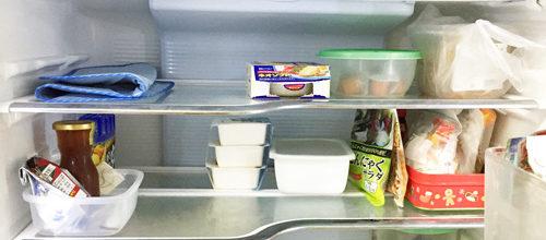 冷蔵庫の断捨離実行後