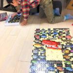 小学校1年生息子、1000ピースパズル完成!
