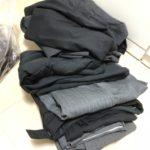 大量のスーツを断捨離!