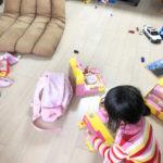 子ども2人・・・散らかった部屋を簡単リセット!