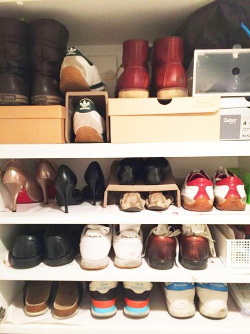 断捨離後の我が家の靴箱